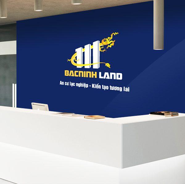 Thiết kế logo thương hiệu Bất động sản Bacninh Land