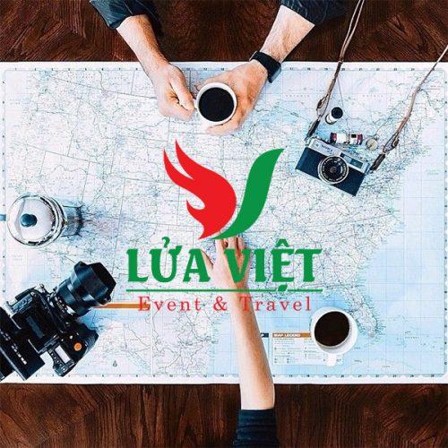 Thiết kế logo thương hiệu Du lịch Lửa Việt