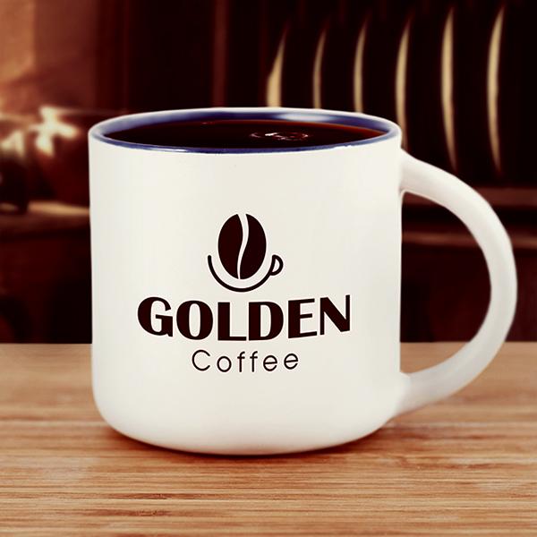 Thiết kế logo thương hiệu Golden Coffee