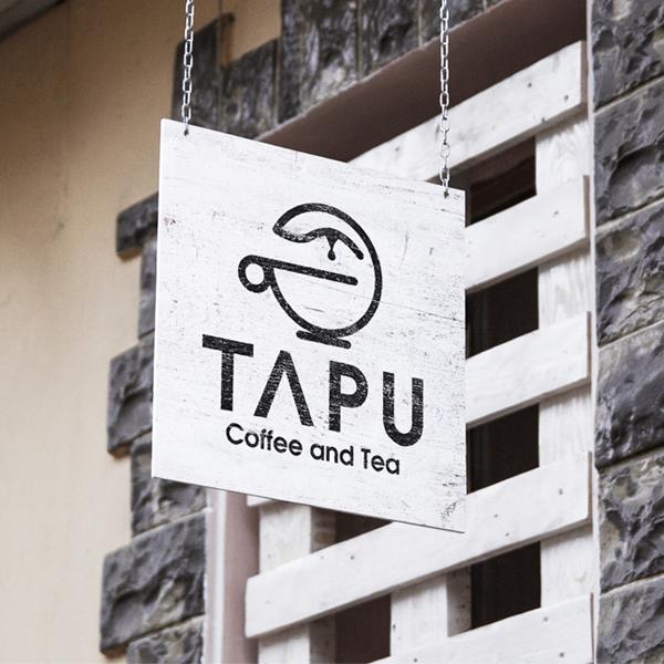 Thiết kế logo thương hiệu TAPU Coffee and Tea
