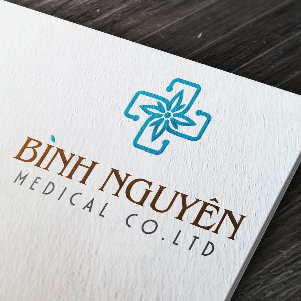Thiết kế logo thương hiệu Thiết bị y tế Bình Nguyên Medical