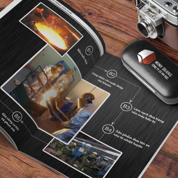 Thiết kế Catalog Cơ khí đúc Minh Quang
