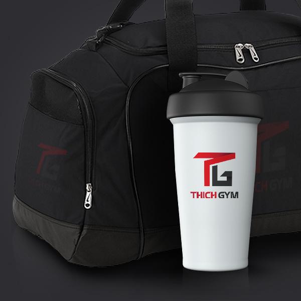 Thiết kế logo phòng tập thể hình thương hiệu Thich Gym