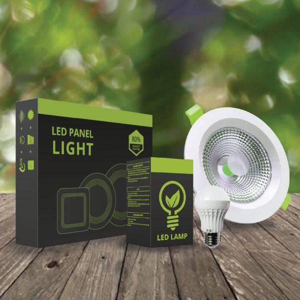 Thiết kế vỏ hộp đèn led Fawookidi