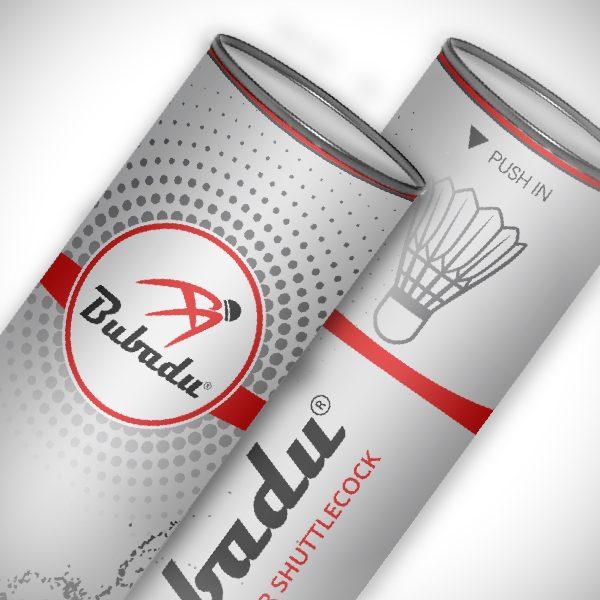 Thiết kế logo thương hiệu cầu lông Bubadu