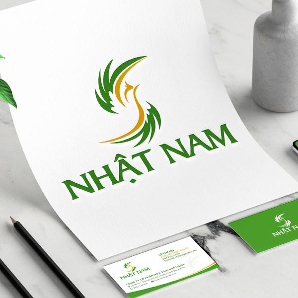 Thiết kế logo thương hiệu hóa sinh Nhật Nam
