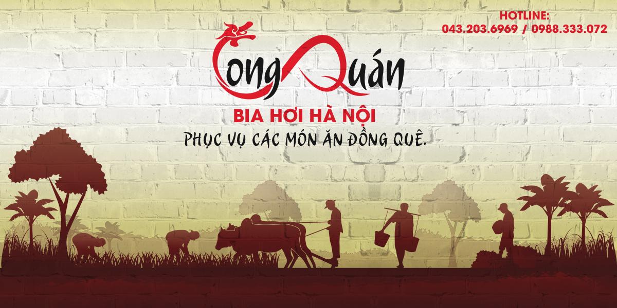 Thiết kế logo thương hiệu nhà hàng Long Quán
