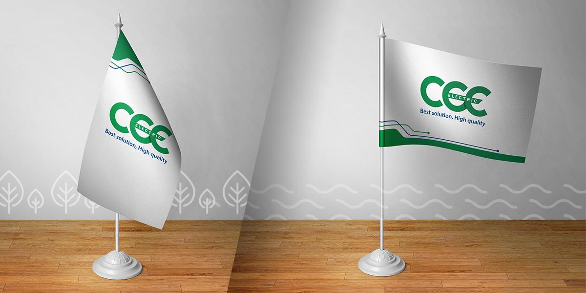 Thiết kế logo thương hiệu thiết bị điện miền Trung CEE