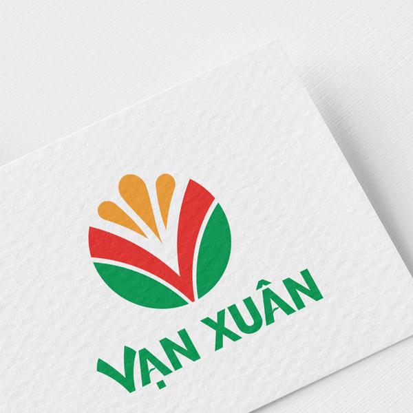 Thiết kế logo thương hiệu Vạn Xuân
