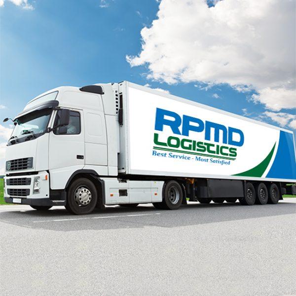 Thiết kế logo thương hiệu RPMD logistics