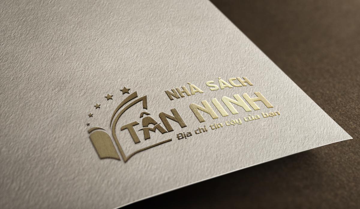 Thiết kế logo thương hiệu Nhà Sách Tân Ninh