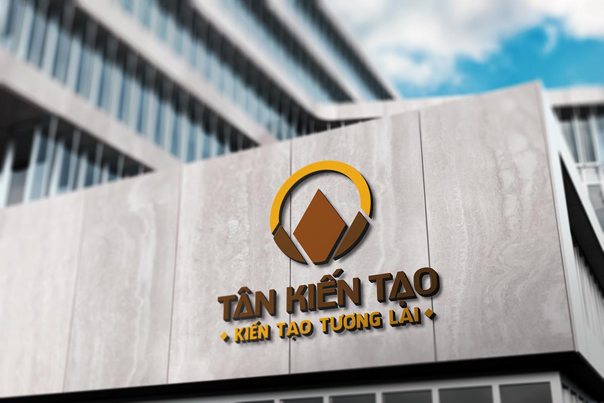 Thiết kế logo thương hiệu Tân Kiến Tạo