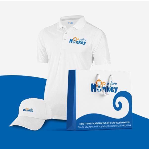 Thiết kế logo thương hiệu Monkey Uniform