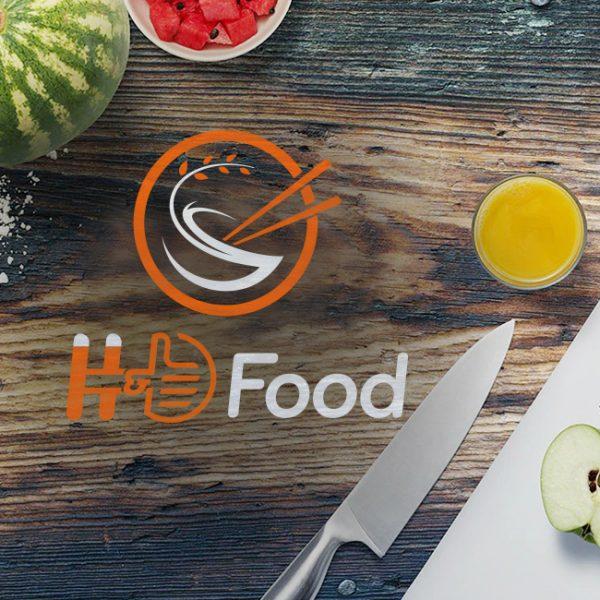 THIẾT KẾ LOGO THƯƠNG HIỆU H&D FOOD
