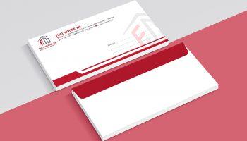 +1001 Mẫu phong bì thư đẹp – chất được thiết kế bởi Pisee