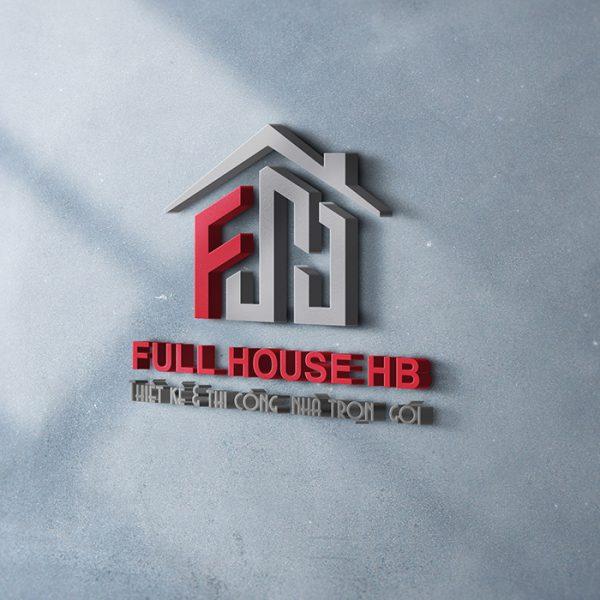 THIẾT KẾ LOGO THƯƠNG HIỆU FULL HOUSE