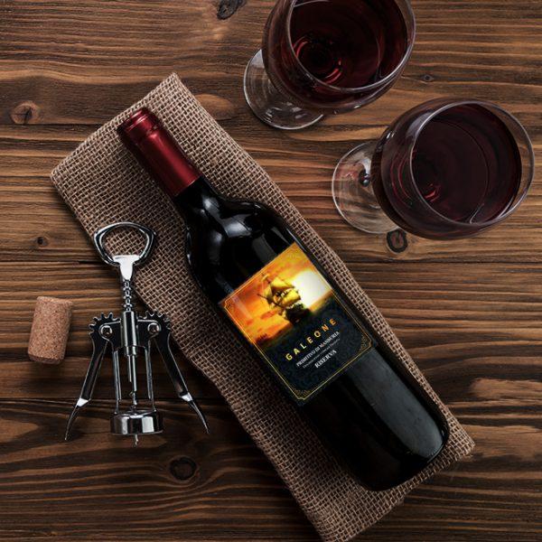 Thiết kế nhãn sản phẩm Rượu Galeone
