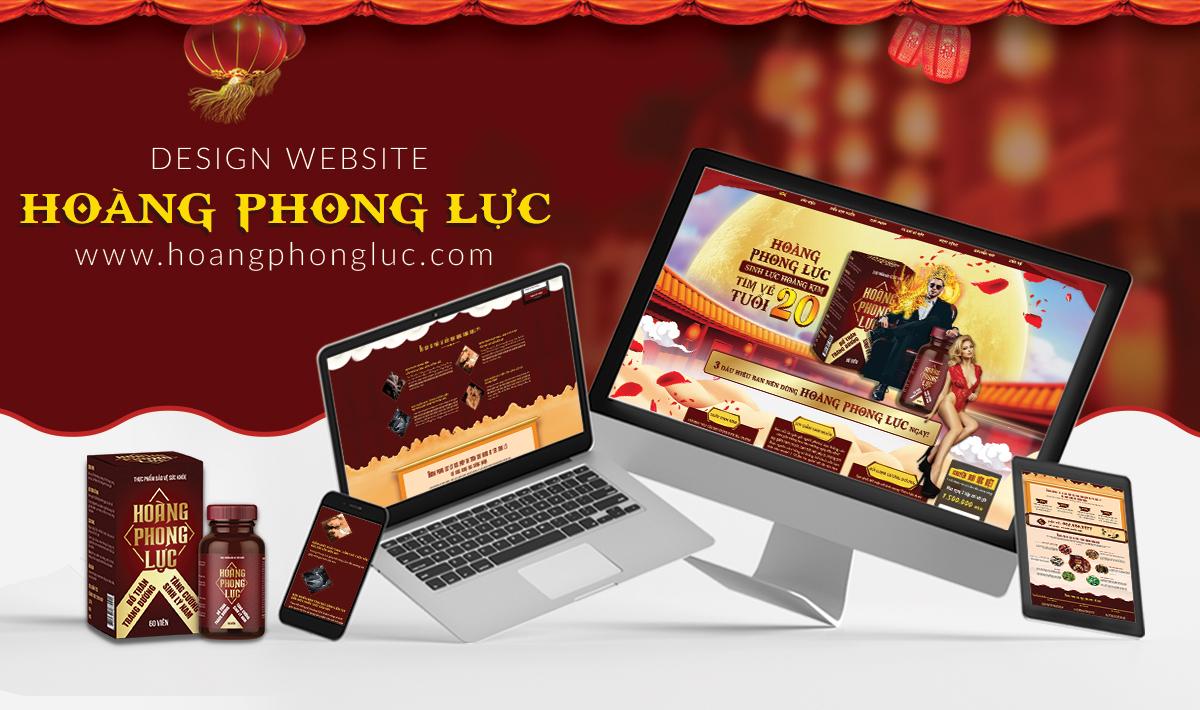 THIẾT KẾ WEBSITE HOÀNG PHONG LỰC