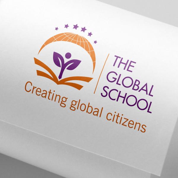 THIẾT KẾ LOGO TRƯỜNG HỌC – THE GLOBAL SCHOOL