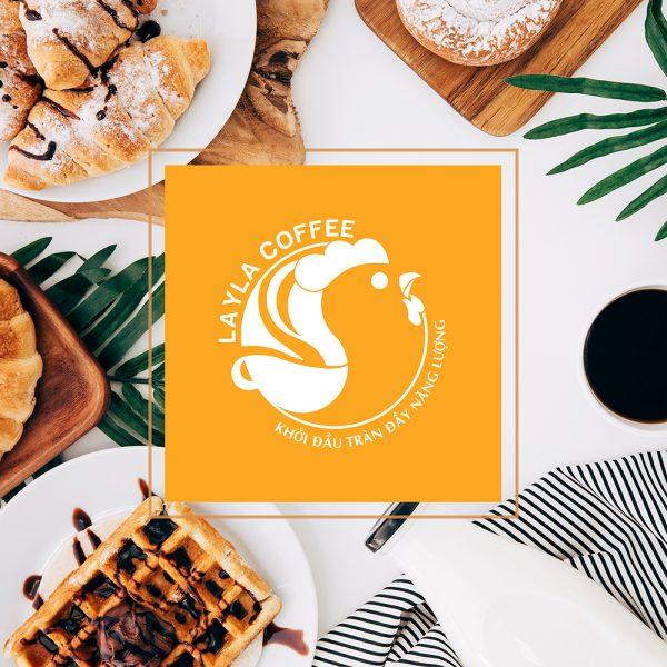 THIẾT KẾ LOGO THƯƠNG HIỆU CÀ PHÊ LAYLA COFFEE